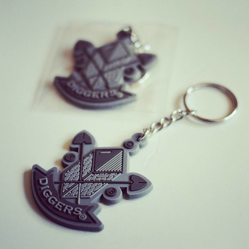 Diggers Key Ring - product images