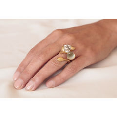 H20 Mint Quartz Gold - Ring - product images 4 of 5