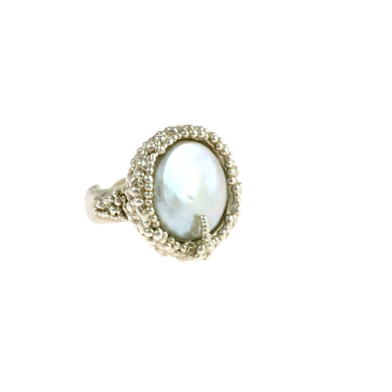 Organica Ring Baroque Fresh Water Pearl - product image