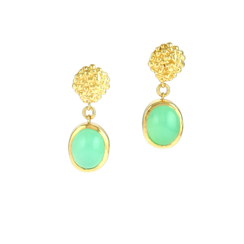 Organica Chrysoprase Earrings - product image