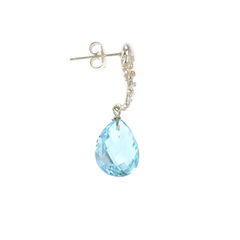 Organica Blue Topaz Earrings - product images 2 of 3
