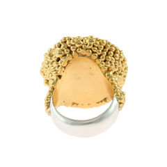Organica Ring Baroque Fresh Water Pearl - Gold - product images 3 of 3