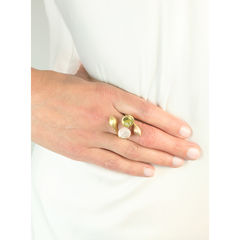 H20 Rock Cystal 18ct. Gold Vermeil - Ring - product images 5 of 5