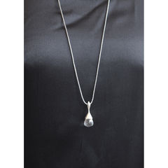 H20 Pendant Necklace Rock Crystal on Sterling Silver - product images 3 of 5