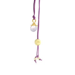 Flower Pendant Necklace Amethysts - product images 1 of 3