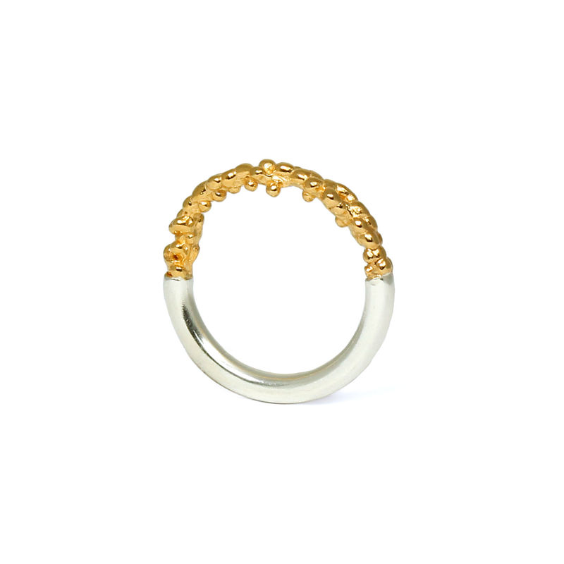 Gold Organica Band Ring - product image