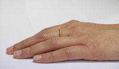 Gold Organica Band Ring - product images 3 of 3