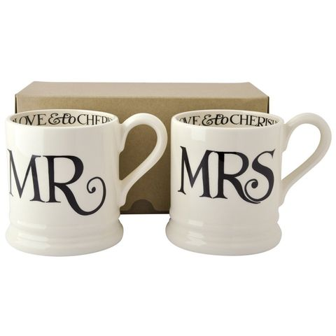 Mr,and,Mrs,Set,2,Mugs,from,Emma,Bridgewater,Emma Bridgewater Mr and Mrs Mugs