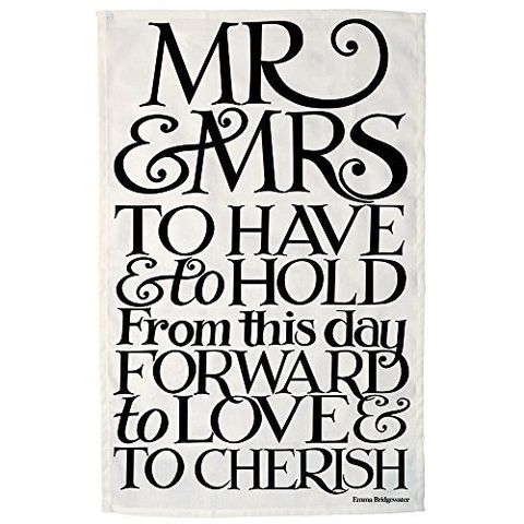 Emma,Bridgewater,Mr,and,Mrs,Tea,Towel,Emma_Bridgewater_Mr_and_Mrs_Tea _Towel