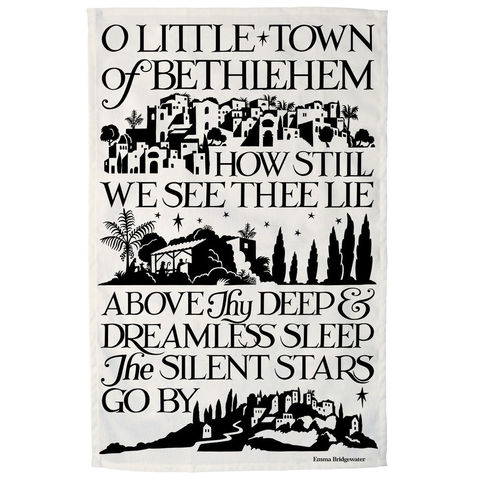 O,Little,Town,of,Bethlehem,Tea,Towel,by,Emma,Bridgewater,Emma_Bridgewater_O_Little_Town_Of_Bethlehem_Tea_Towel