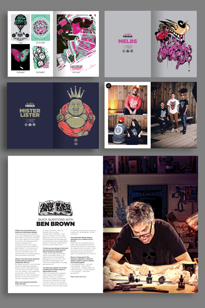 Six Years Of AnyForty - 300 Page Book - product images  of