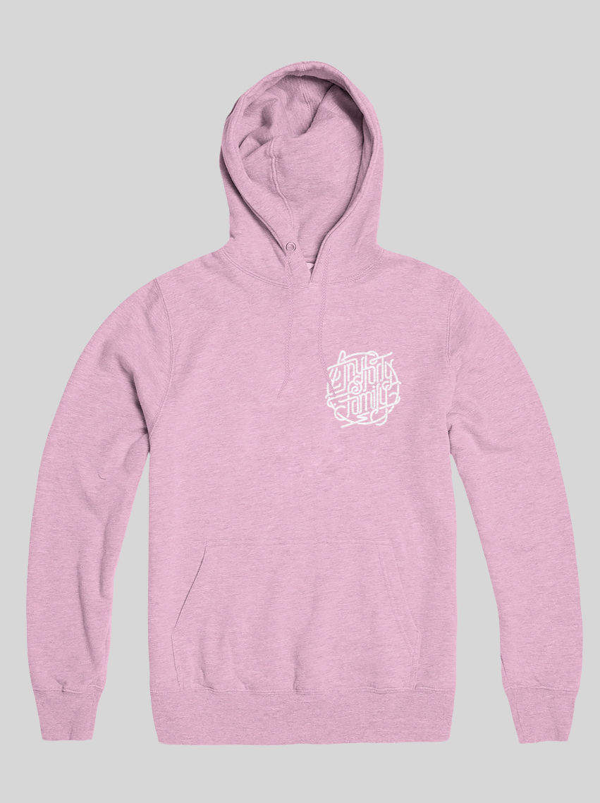 AnyForty Idents - AnyForty Family - Pastel Pink Pullover Hoody - product images  of