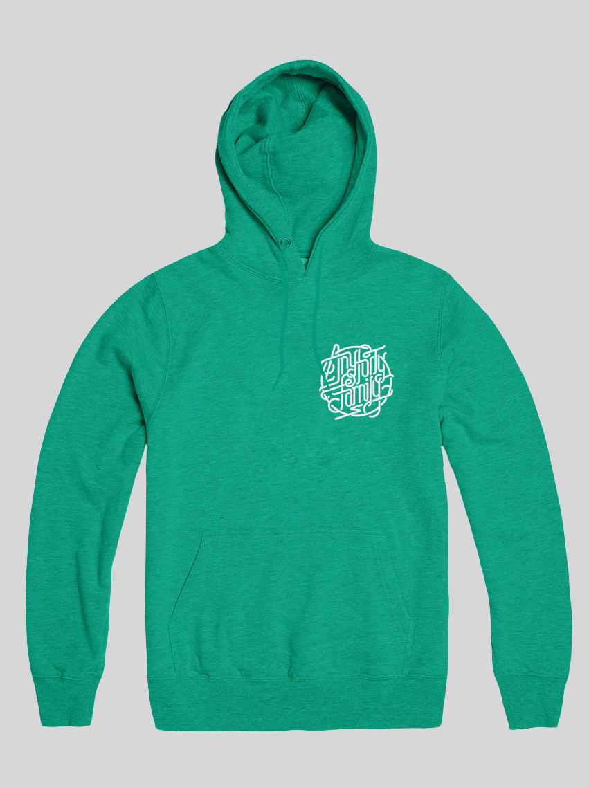 AnyForty Idents - AnyForty Family - Mint Green Pullover Hoody - product images  of