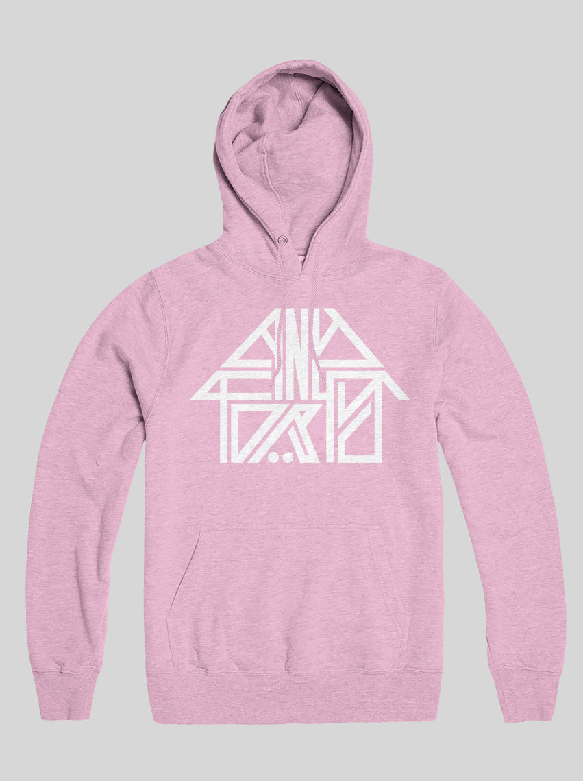 AnyForty Idents - 45RRPM Refix - Pastel Pink Pullover Hoody - product image