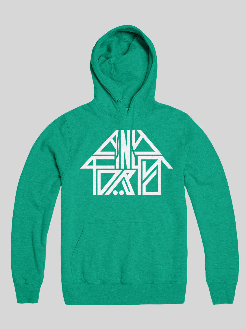 AnyForty Idents - 45RRPM Refix - Mint Green Pullover Hoody - product image