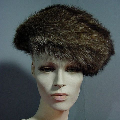 60s,Chic,Chapeau,Adolfo,Realities,Fur,Hat,hat, chapeau, 1960s, vintage, Adolfo, Realities, fur, fox, 60s, millinery, Balenciaga, Coco, Emme, prettysweetvintage, sweetiepievintage, sweetie pie vintage