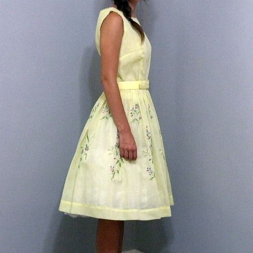 60s Teena Paige Beautiful Dreamer Dress   34b/24w - product image