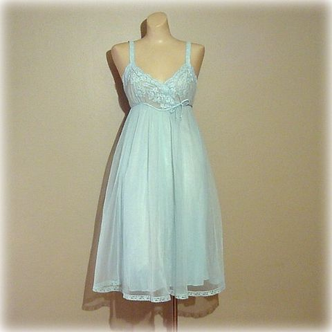 60s,Van,Raalte,Blue,Lace,and,Chiffon,Gown,Small,Vintage,Clothing,Lingerie,van_raalte,blue,chiffon,lace,sheer,satin,1960s,mad_men,gown,nightgown,vfg_member_team,nylon, pretty sweet vintage, sweetiepievintage, sweetie pie vintage, pleasurequeen