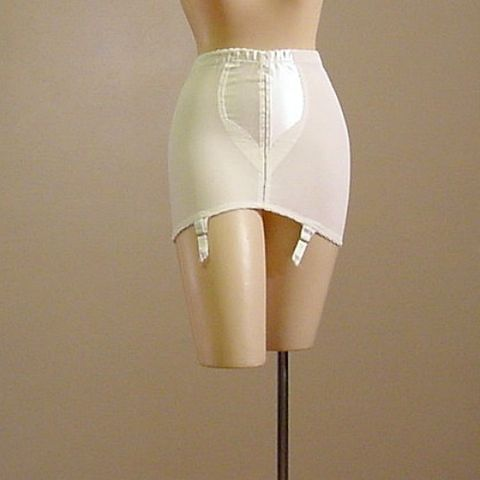 60s,Maidenform,Concertina,Girdle,Medium,vintage,clothing,lingerie,girdle,maidenform,concertina,satin,rubber,spandex,peek_a_boo,garters,open_bottom,1960s,vfg_member_team,nylon,acetate,elastic,cotton,metal, pretty sweet vintage, sweetiepievintage, sweetie pie vintage, pleasur