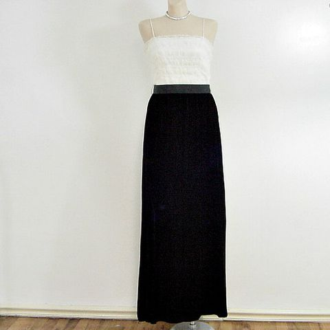 60s,Velvet,and,Lace,Maxi,Dress,32b/27w,vintage, womens, clothing, dress, long, maxi, lace, velvet, 60s, 1960s, party, christmas, new years, black, white, prettysweetvintage, sweetiepievintage, sweetie pie vintage