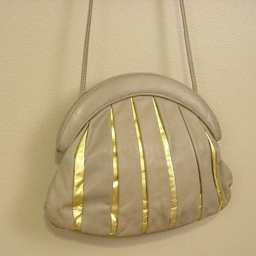 70s 80s golden rays handbag product image