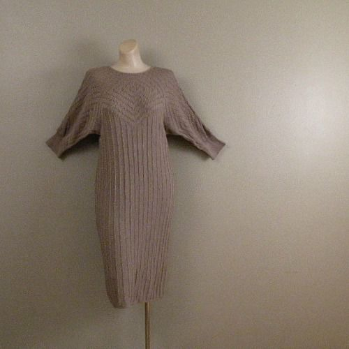 70s Oscar de la Renta Sweater Dress    40b/36w - product image