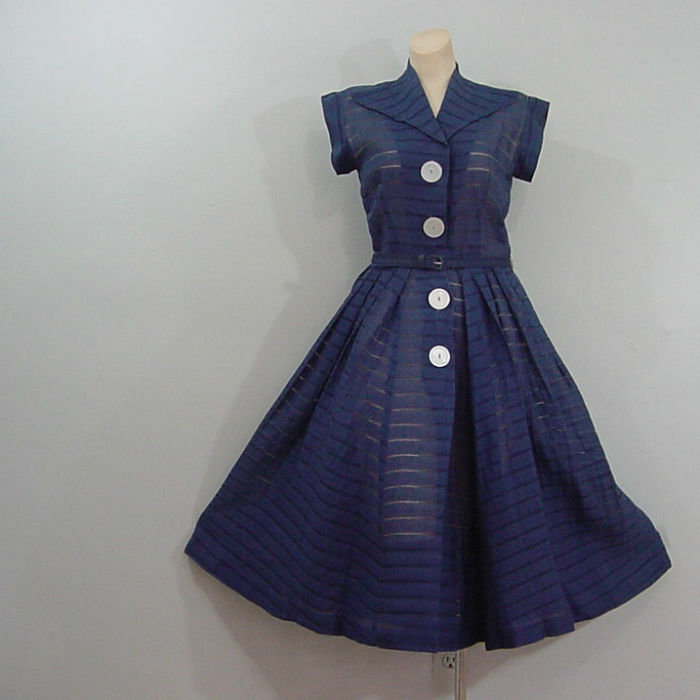 1940s 1950s dresses collection pretty sweet vintage