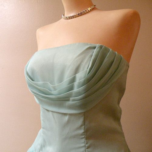 50s Some Enchanted Evening Prom Party Dress 34b 27w