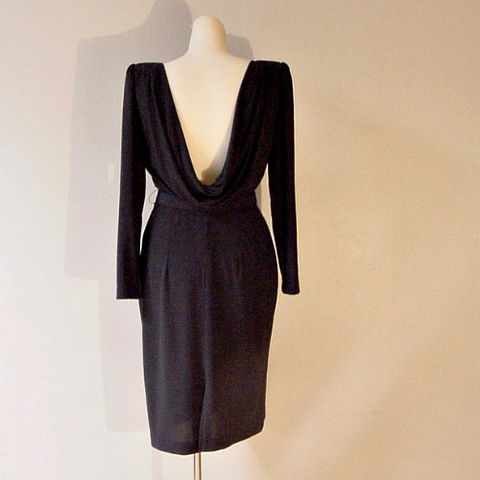 70s,80s,A,La,Carte,Little,Black,Dress