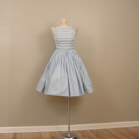 60s,Alice,in,Blue,Full,Skirt,Dress