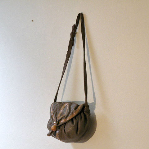80s,Leather,&amp;,Snake,Taupe,Purse,1980s, 80s, vintage, handbag, purse, bag, Four Seasons, Hong Kong, snake, snakeskin, snake skin, taupe, leather, wood bead, career