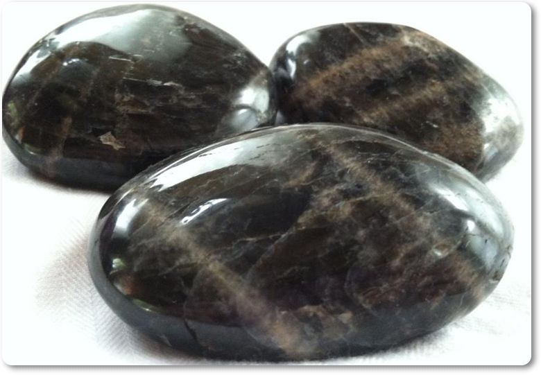Black Moonstone - Crystalline Light Shop