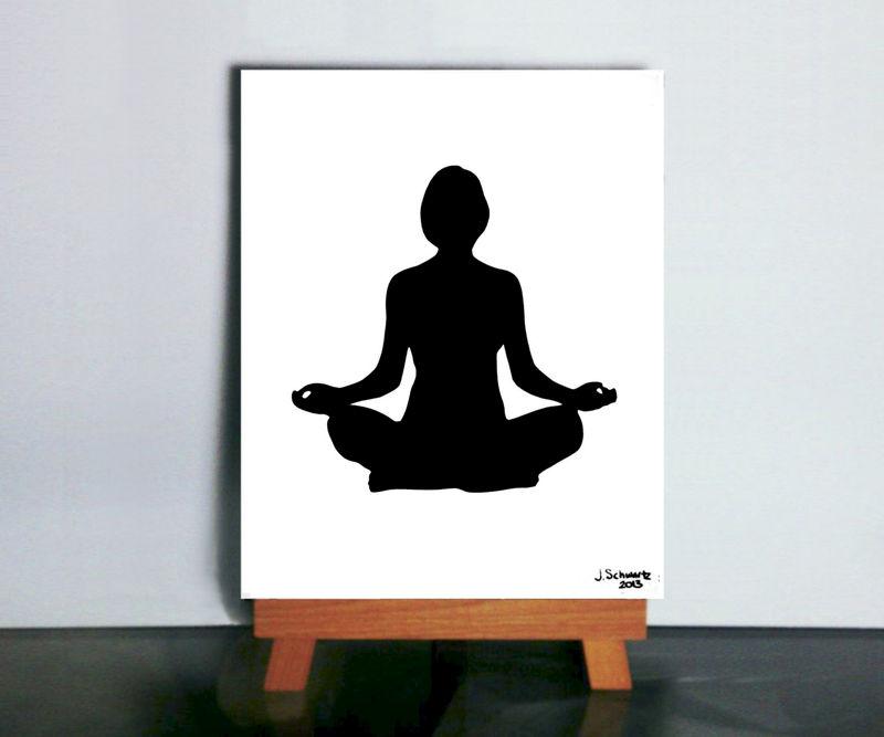 Meditation Art Yoga Aum Buddhist OM Papercutting