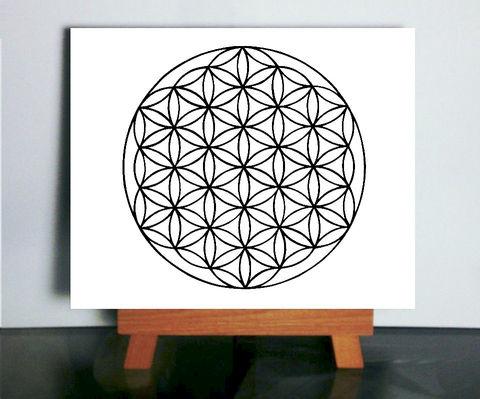 Flower Of Life Art Sacred Geometry Art