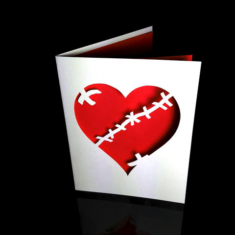 Broken,and,Stitched,Heart,Card,valentine, broken heart, stitched heart, greeting card, missing you card, love
