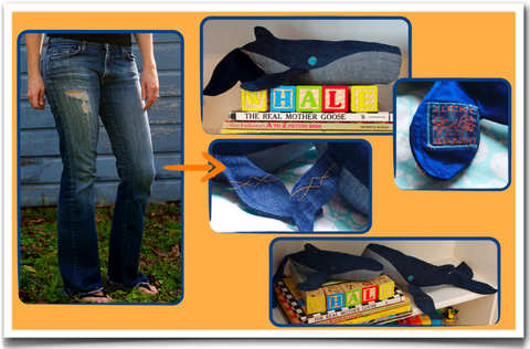 Custom,pod,of,whales,from,your,favorite,jeans,(~3,depending,on,jeans),repurposed_denim,humpback_whales,custom_stuffed_animal,whale,vintage_denim,handmade,denim_love