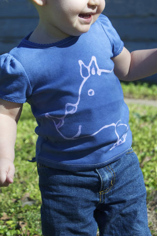 Rumble,the,Rhino,-,hand,dyed,t-shirt,original,design,front,and,back,multiple,colors,available,tshirt,kids shirt,navy,girls shirt,safari,animal birthday