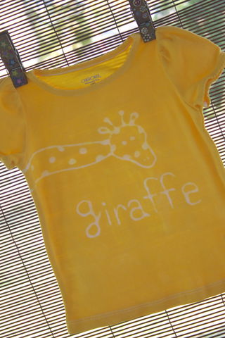 Tip-top,the,Giraffe,-,hand-dyed,t-shirt,original,design,front,and,back,multiple,colors,available,tshirt,giraffe,yellow,kids_shirt,animals, safari,birthday_gift,baby_shower_gift
