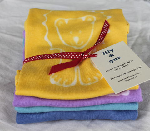 Animal,parade,t-shirt,gift,set,Children,Clothing,tshirts,hand_dyed,dye_resist,baby_gifts,kids_birthday,baby_shower,kids_christmas_gift,safari,animals,lion,giraffe,hippo,elephant,golden_yellow,procion_mx_dye