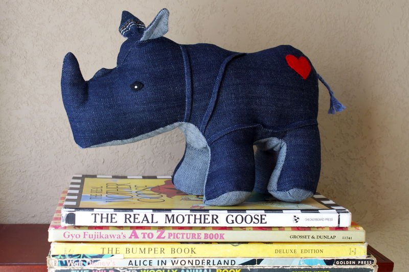 Custom rhino from your favorite jeans - product images  of