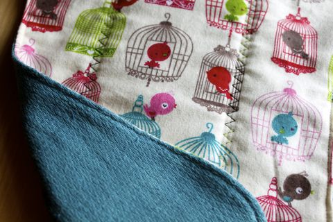 Tweet,,tweet,bird,cage,burp,cloth,Burp_cloth,spit_rag,prefold_diaper,diaper_cloth,cloth diapering,baby_shower,baby_gift,hand_dyed, bird cage,baby