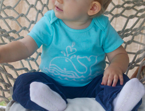 Josie,the,Humpback,Whale,-,hand,dyed,onesie,original,design,Children,Clothing,hand_dyed,baby_shower,baby_christmas_gift,children,stocking_stuffer,baby,aqua,blue,whale,navy,humpback_whale,under_20,cotton,procion_mx_dye,dye_resist