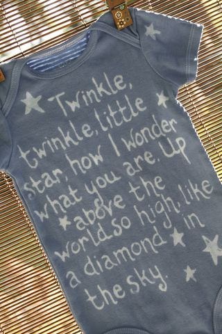 Twinkle,twinkle,little,star,onesie,-,hand,dyed,original,design,Children,Clothing,hand_dyed,baby_shower,baby_christmas_gift,twinkle twinkle little star, stars, space