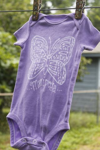 Mariposa/Butterfly,-,hand,dyed,onesie,original,design,Children,Clothing,butterfly,hand_dyed,dye_resist,baby_gifts,baby_shower,tropical, mariposa