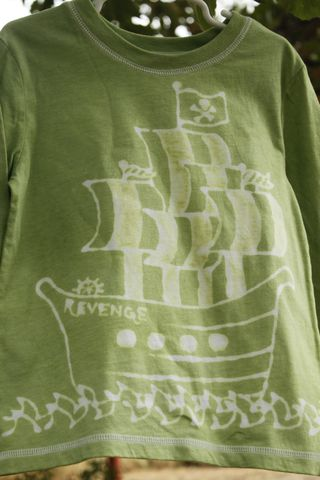 Pirate,ship,Revenge,tshirt, birthday, custom shirt, hand dyed, hand drawn, pirate ship, revenge, pirate party