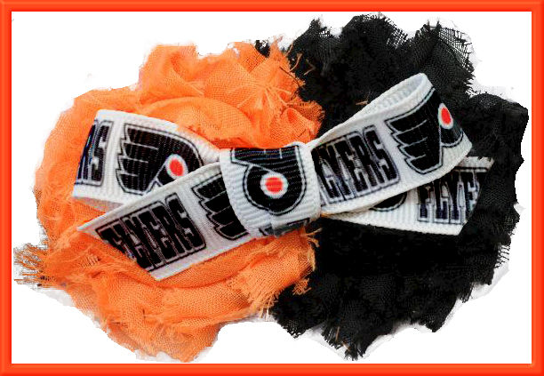 Philadelphia Flyers Grosgrain Ribbon - product image