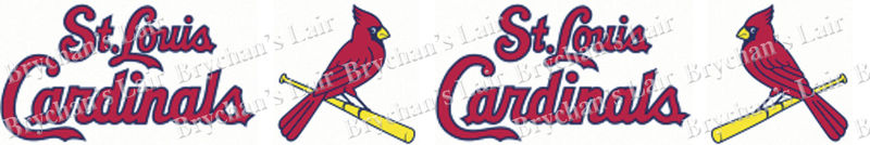 Saint Louis Cardinals No2 Grosgrain Ribbon - product image