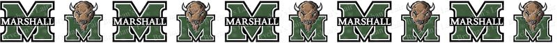 Marshall University Thundering Herd Grosgrain Ribbon - product image