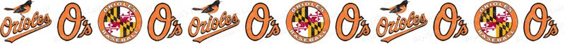 Baltimore Orioles Grosgrain Ribbon - product image