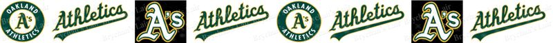 Oakland Athletics Grosgrain Ribbon - product image